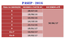 PASEP - 2016