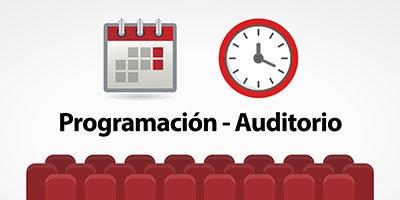 Programación Auditorio
