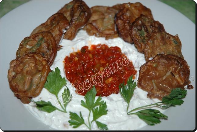 Kaplanmış patlıcan kızartması( Lalenki ) 12