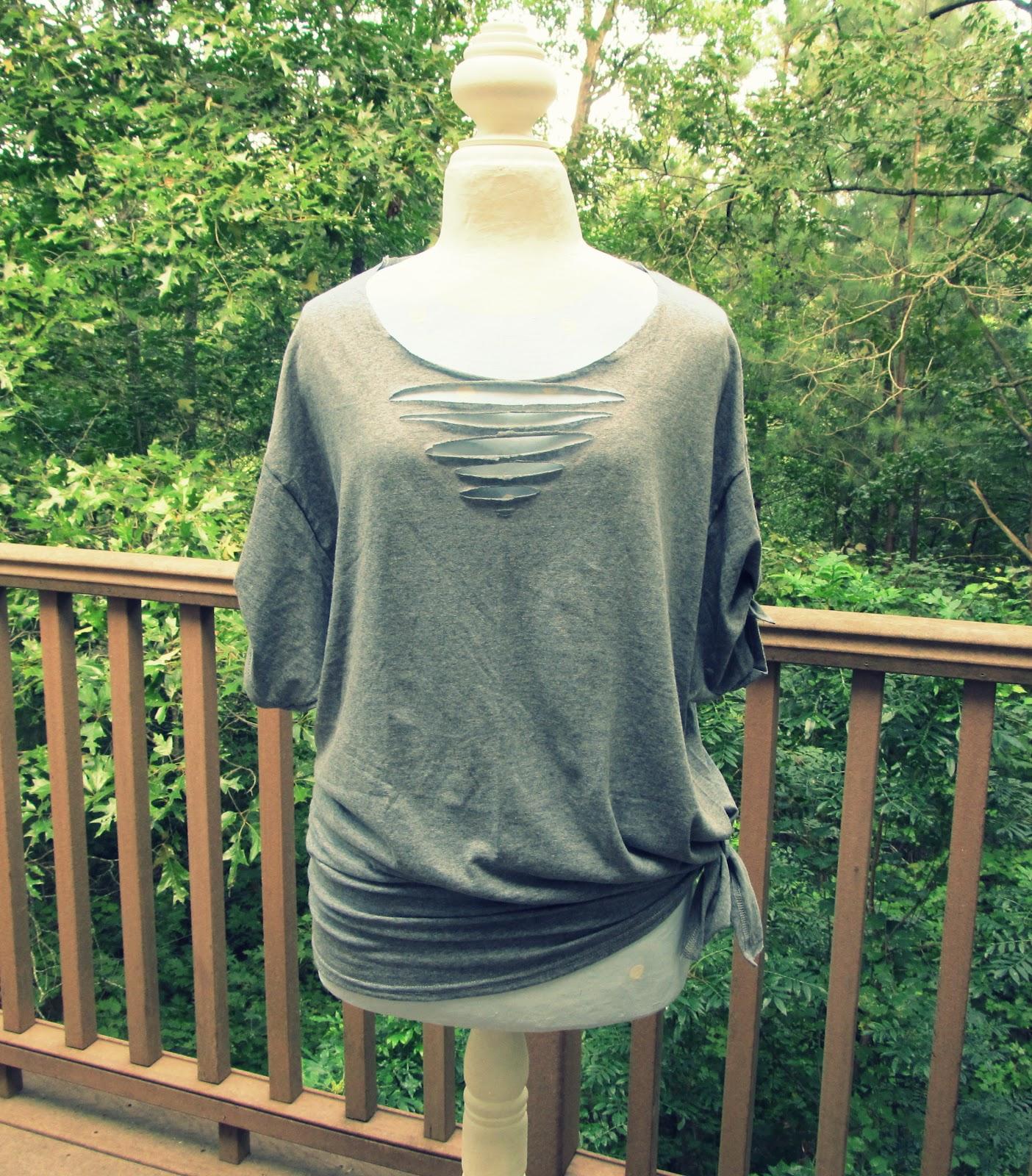 wobisobi no sew triangle tee shirt diy. Black Bedroom Furniture Sets. Home Design Ideas