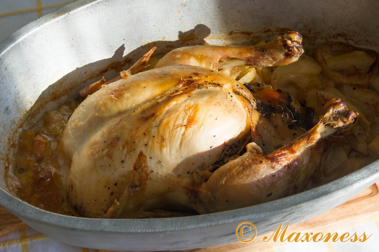 Курица по-мадридски. Испанская кухня