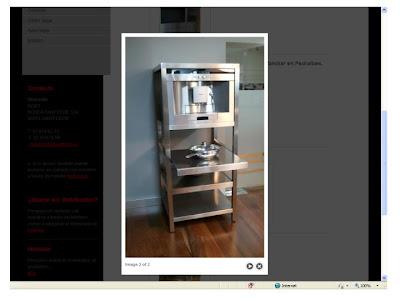 Mobiliario auxiliar de cocinas, en el blog de las cocinas de Tomas - lascocinasdetomas - Moda en la cocina