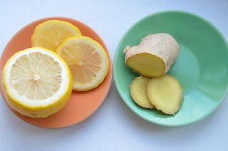 citroen en gember