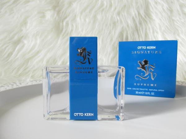 Otto Kern - Signature Supreme Eau de Toilette for men - 13.95 Euro