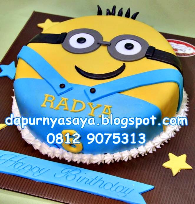Despicable Minion Cake