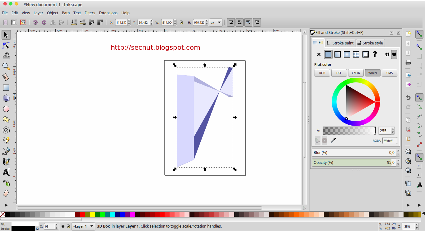 Inkscape best alternative to corel draw for linux free Inkscape software