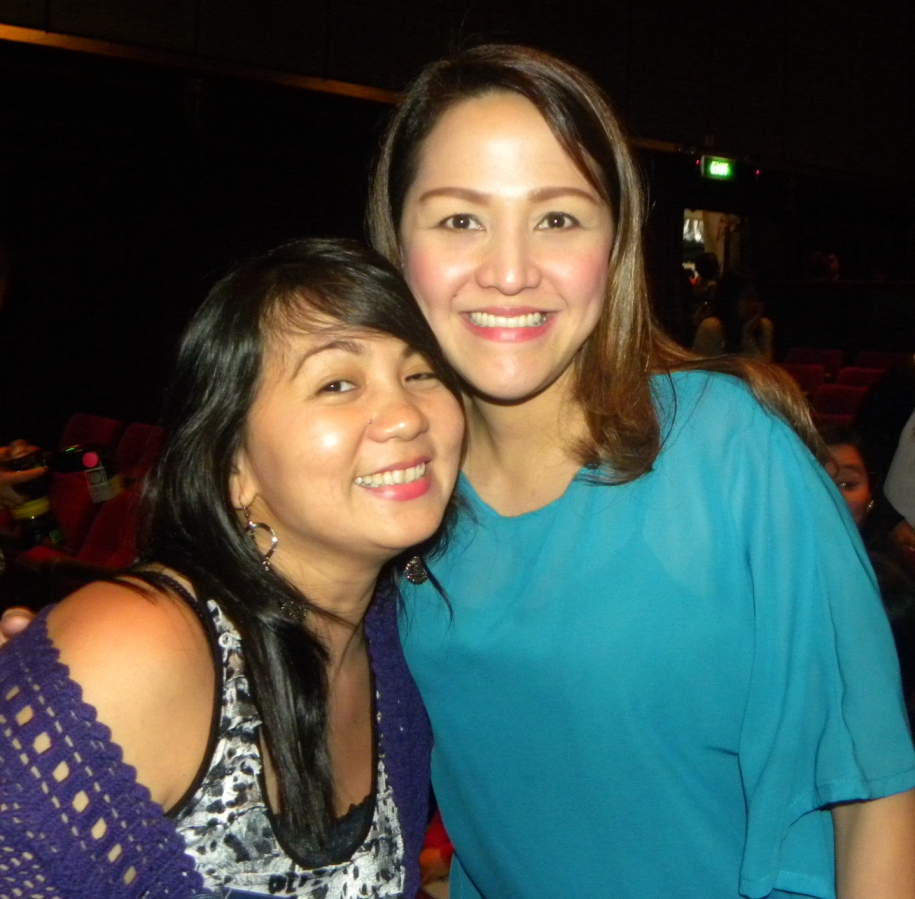 Mrs. Melody Yap, the very lovely and supportive wife of Richard