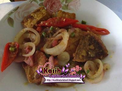 Resepi,Ikan Pari,Goreng Cili Padi