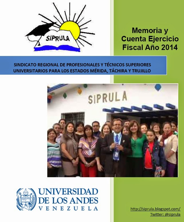 INFORME SIPRULA 2014