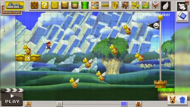mario maker nintendo wii u game 2015 screenshot e3