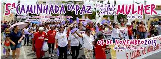 CEOP realiza neste sábado (07) em Picuí V Caminhada da Paz Pelo Fim da Violência Contra a Mulher