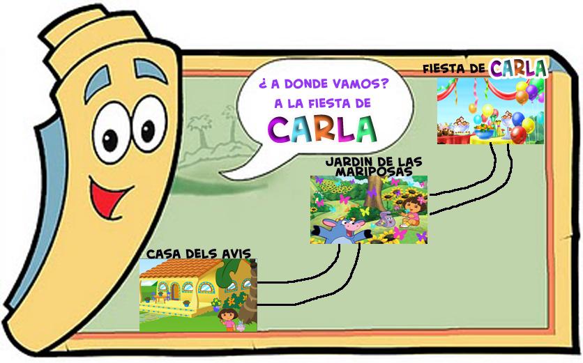 Mardefiesta Invitaciones Dora la exploradora
