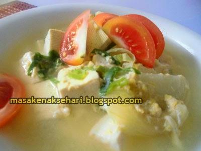 Resep Miso Soup Tahu Jepang Mudah Sederhana