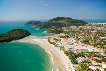 Praia Pernambuco - Guarujá-SP. É uma das poucas praias que tem mar casado no Brasil!!