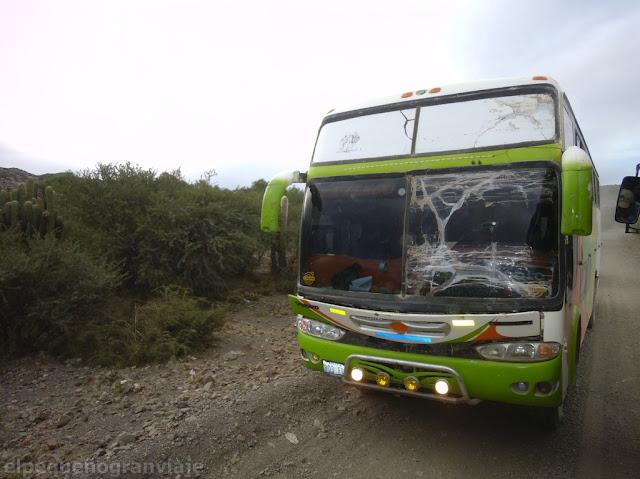 Transporte Villazon Uyuni, Bolivia