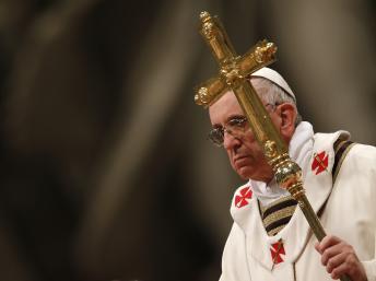 Papa com a cruz
