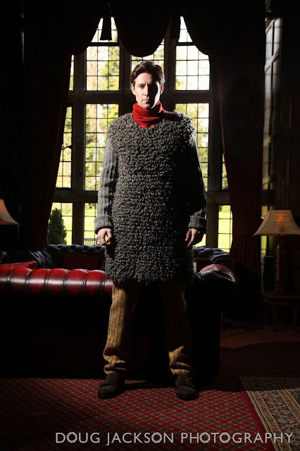 Fashion photographer - Ben in knitware
