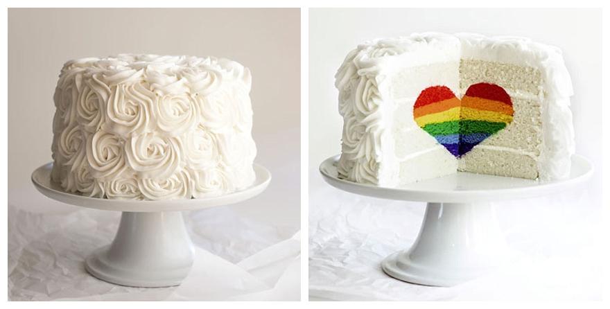Rainbow Wedding Cakes 62 Stunning