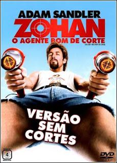 Download - Zohan - O Agente Bom de Corte DVDRip - AVI - Dual Áudio