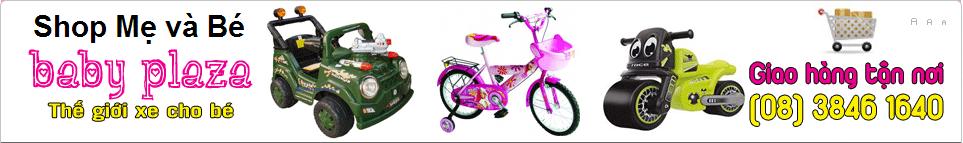 Xe hơi điện cho bé giá rẻ tại BABY PLAZA