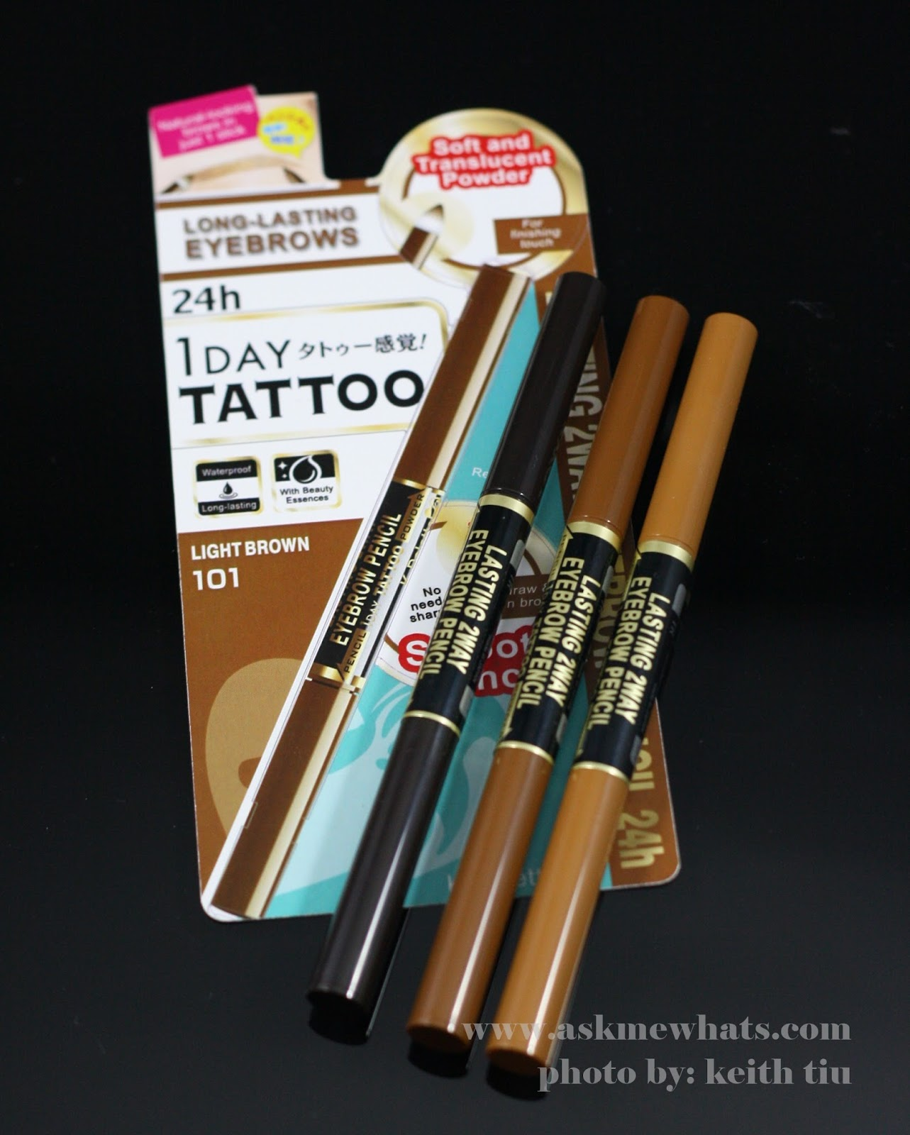 K-Palette Lasting 2Way Eyebrow Pencil  review