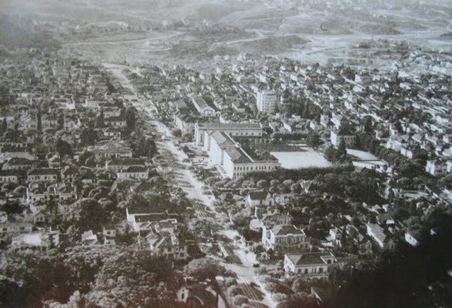 Avenida Paulista em 1935.