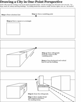 c i c s bucktown art perspective how to worksheets. Black Bedroom Furniture Sets. Home Design Ideas