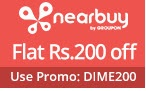 NearBuy Local Deals - Flat Rs.200 Off on Rs. 499