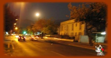 luna austral en su perigeo