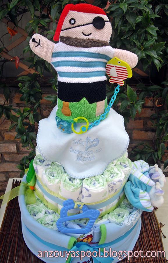 Diaper Cake Boy Themes