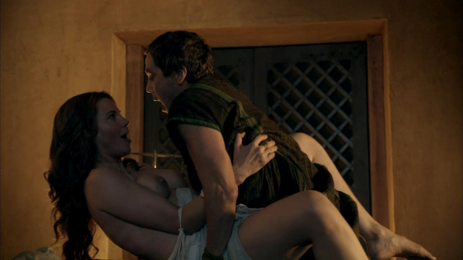 Lucy Lawless Hot Scenes From Spartacus Hd Video Nsfw