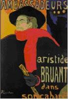 Aristide Bruant, Toulouse-Lautrec sejarah desain grafis golono 41 desain