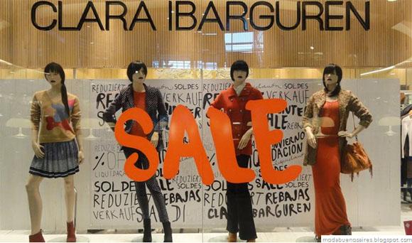 Clara Ibarguren Liquidación invierno 2012.