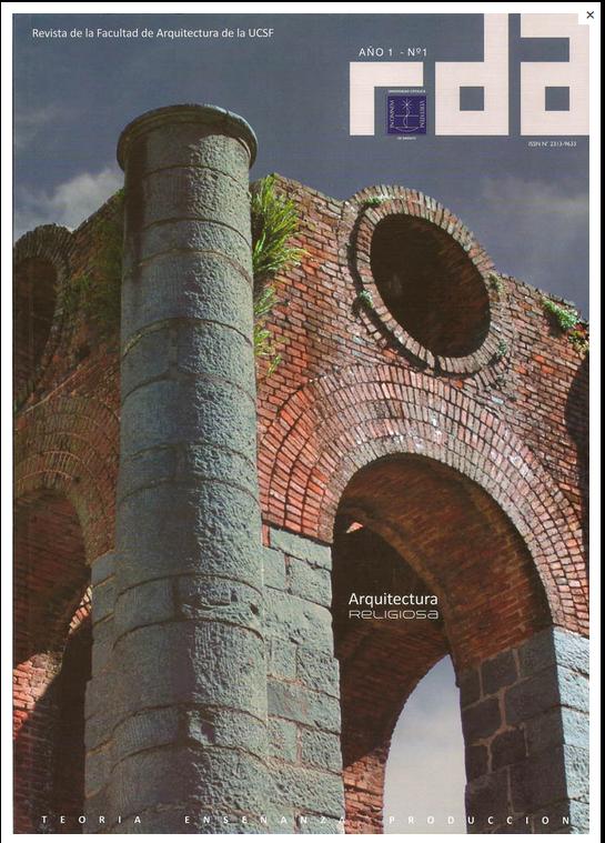 Facultad de arquitectura ucsf rda la revista de la for Decano dela facultad de arquitectura