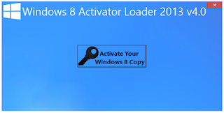 Windows 8 Activator Loader 2013 v4.0 Full Patch Crack