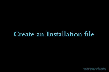 how to make vbs create a file