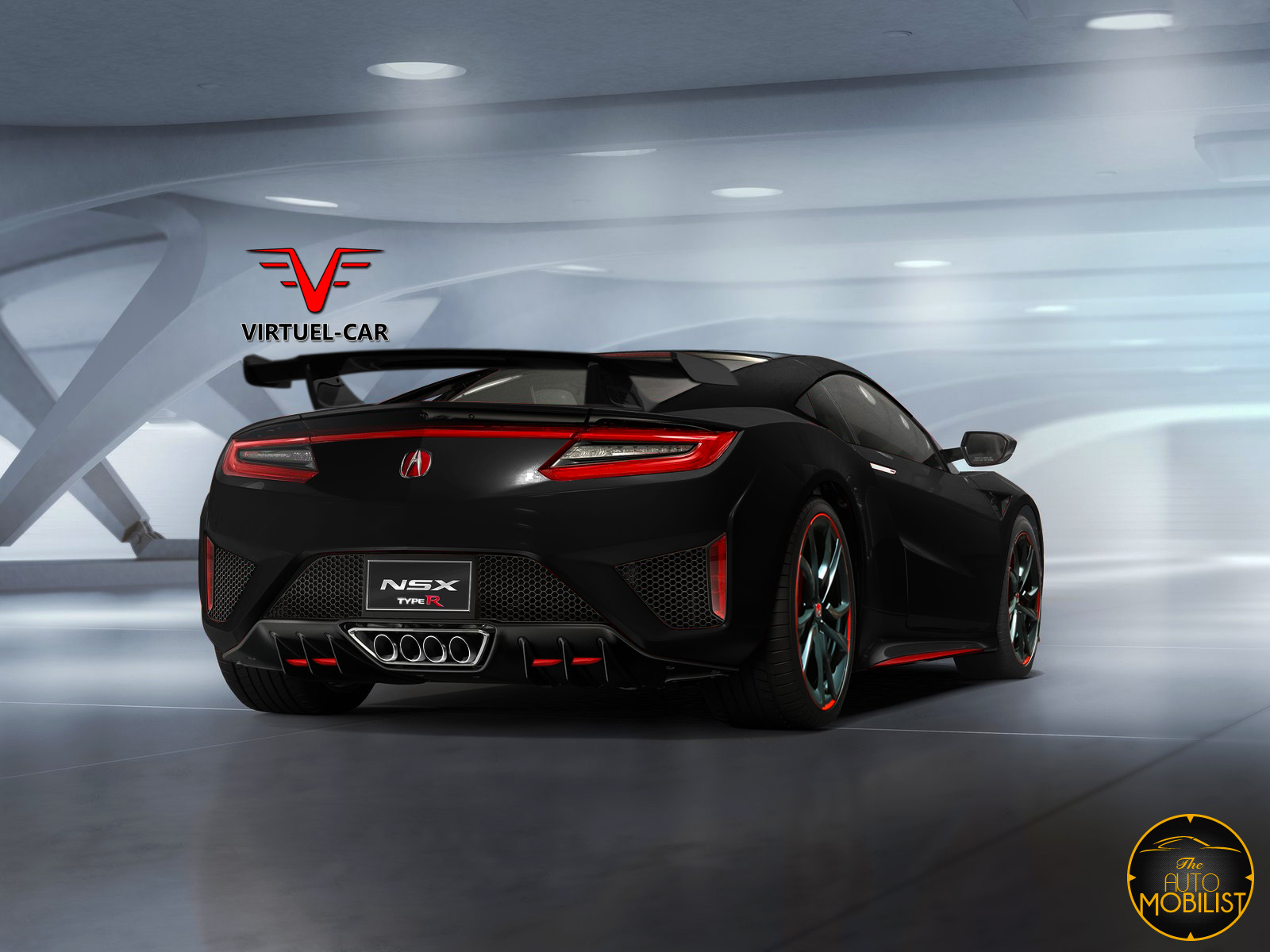 What About This New Acura / Honda NSX Type R Render?