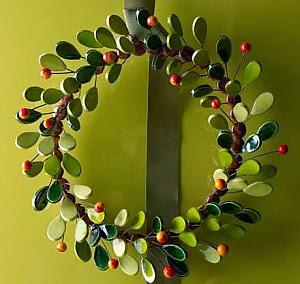 Coronas de Navidad, Minimalismo