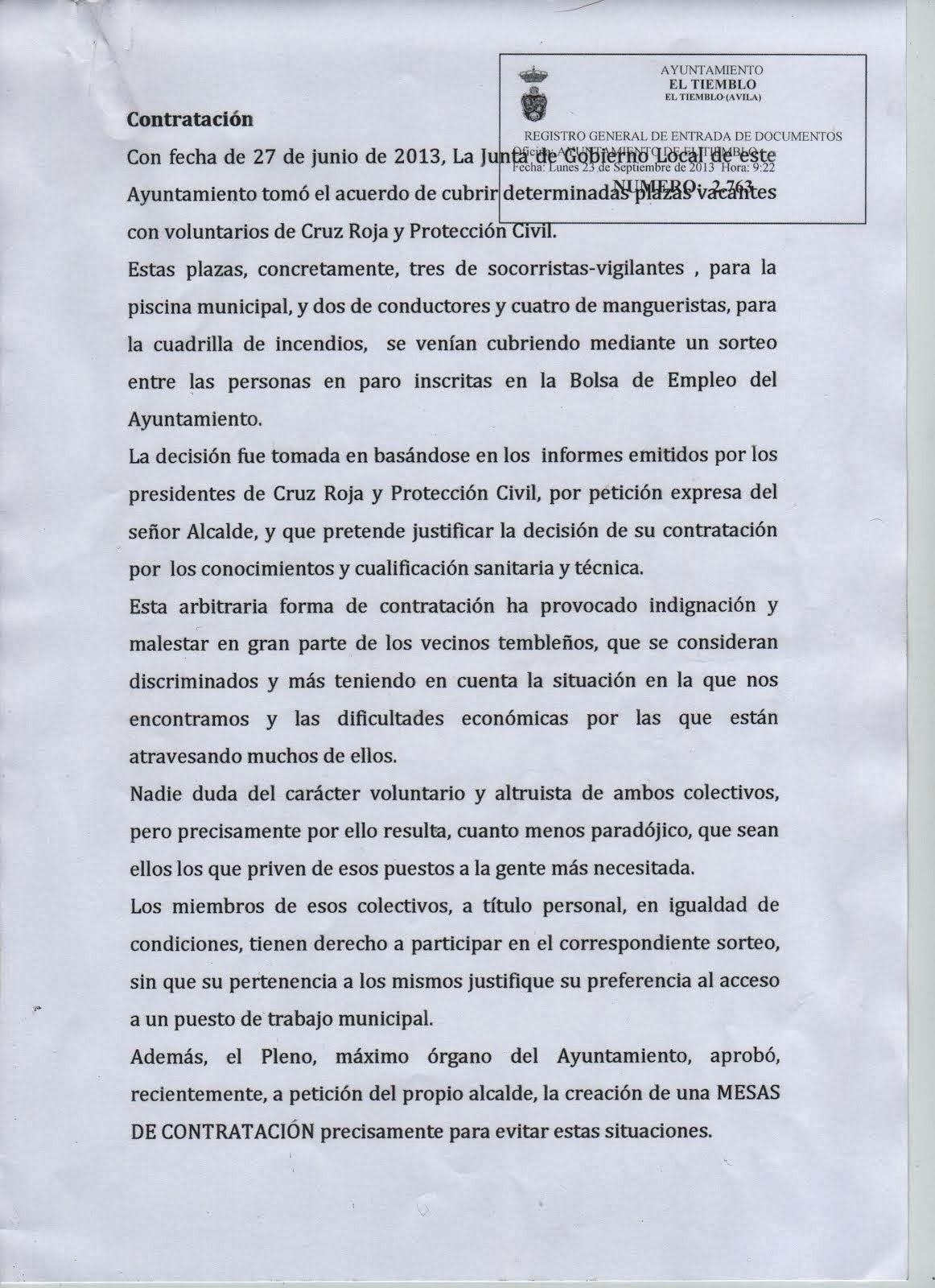 DOCUMENTOS PRESENTADOS