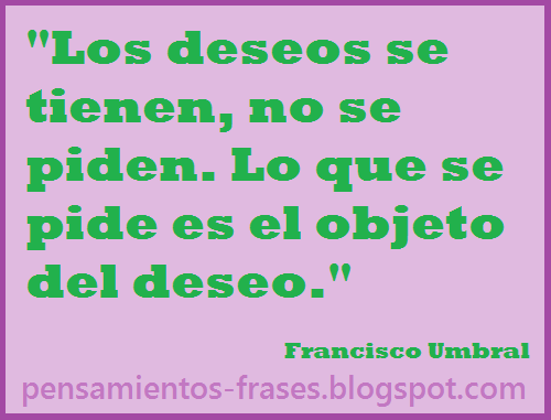 frases de Francisco Umbral