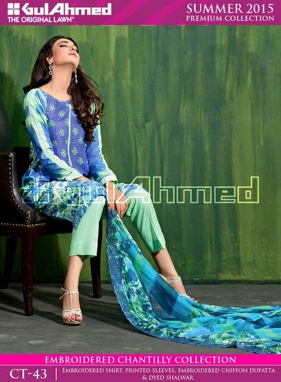 Chantilly De Chiffon Summer Collection by Gul Ahmed 14