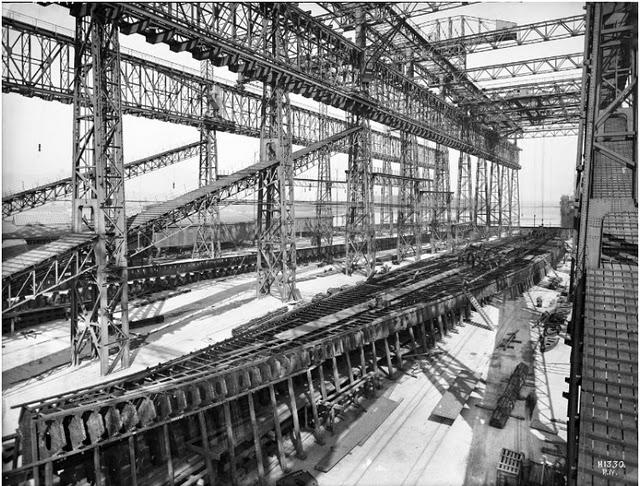 Lbum de fotos de como se hizo el titanic taringa - Construccion del titanic ...