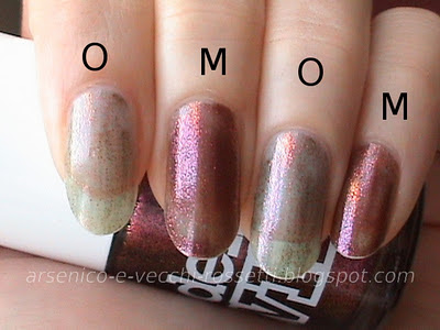 Orly Space Cadet Cosmic FX Models Own Beetlejuice Pinky Brown swatch