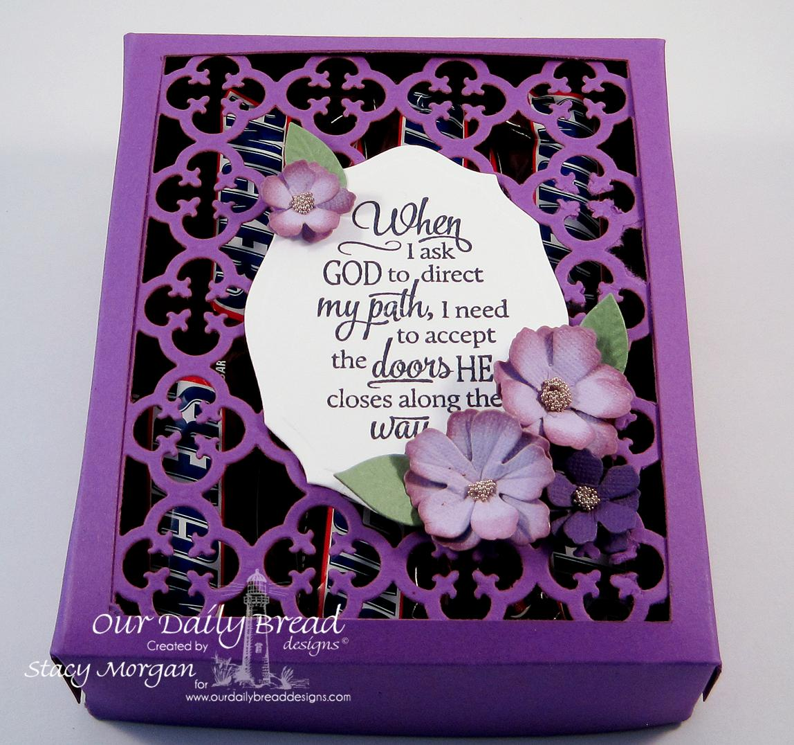 Stamps - Our Daily Bread Designs Sentiment Collection 3, ODBD Custom Quatrefoil Pattern Die, ODBD Elegant Oval Die