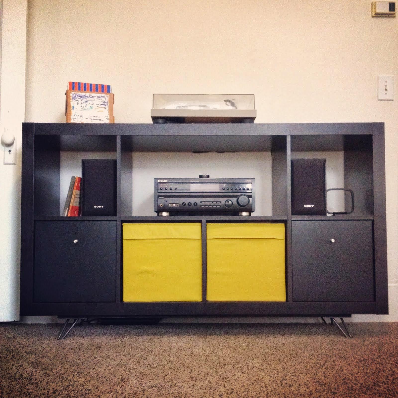 easy mid century ikea credenza ikea hackers ikea hackers. Black Bedroom Furniture Sets. Home Design Ideas