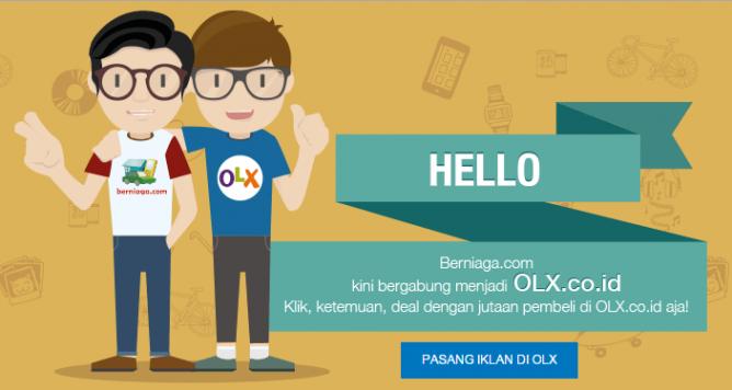 Berniaga.com Resmi Merger dengan OLX