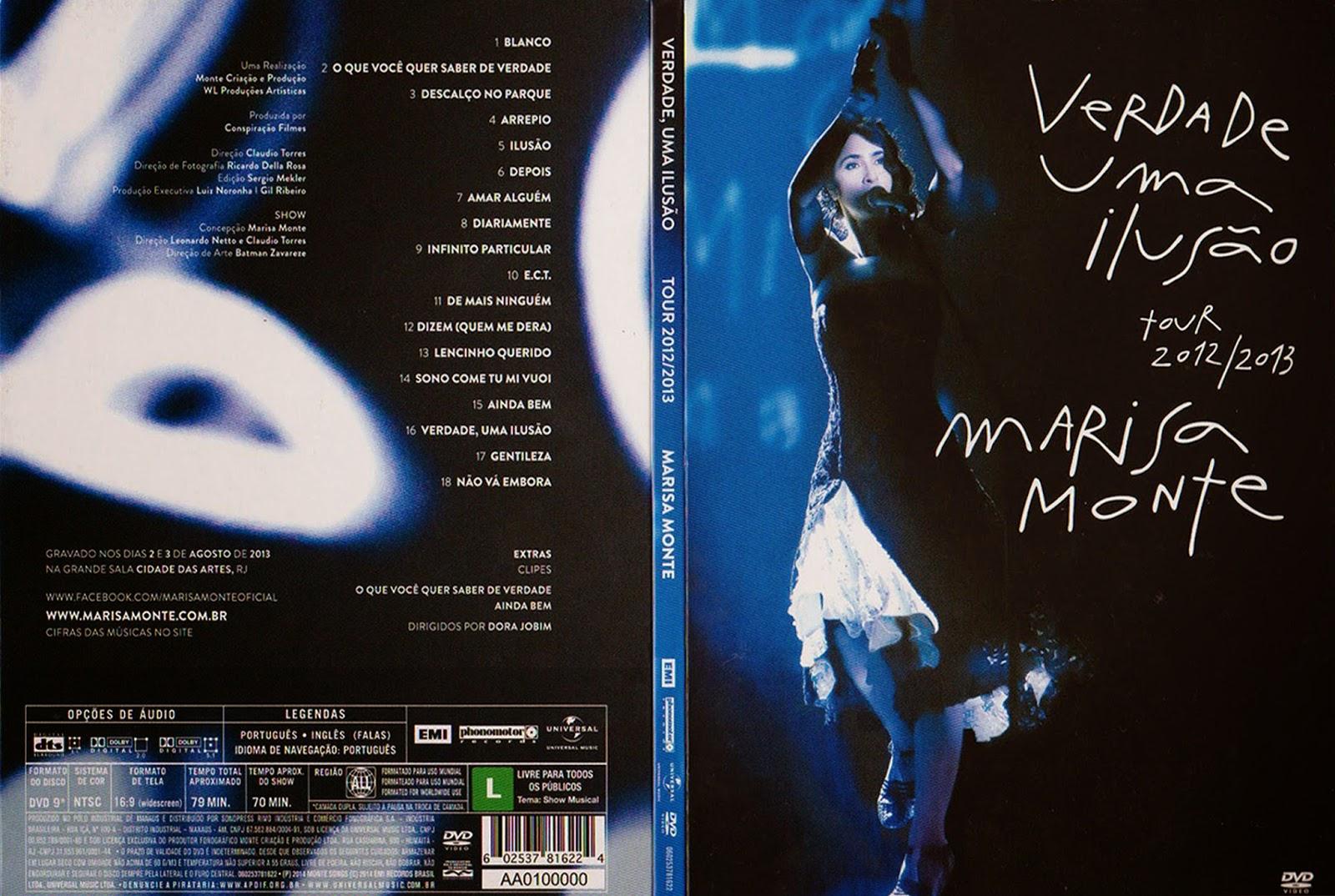 Download Marisa Monte Verdade Uma Ilusão DVDRip XviD 2014 Marisa Monte    Verdade Uma Ilus C3 A3o