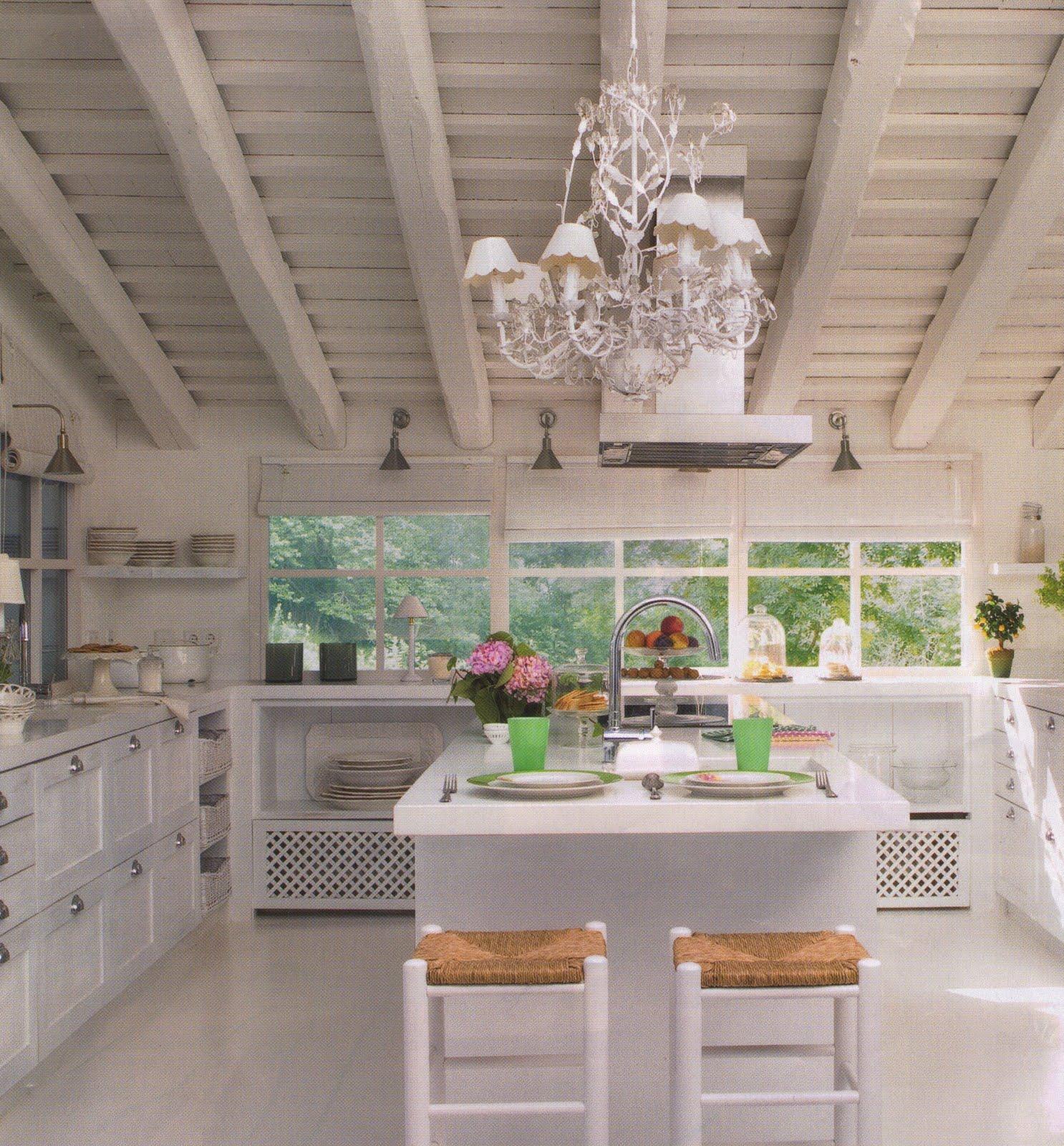 Un cocina Blanca / A White Kitchen | desde my ventana | blog de ...