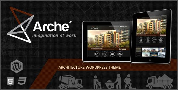 Arche Responsive Wordpress Theme