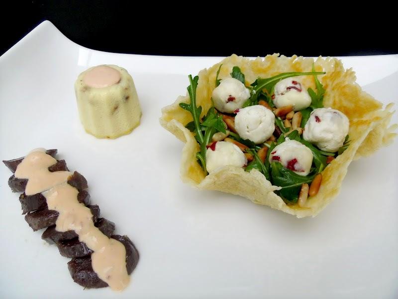 Gourmande ou passionn e parmesan tomates confites et for Cuisiner une entree